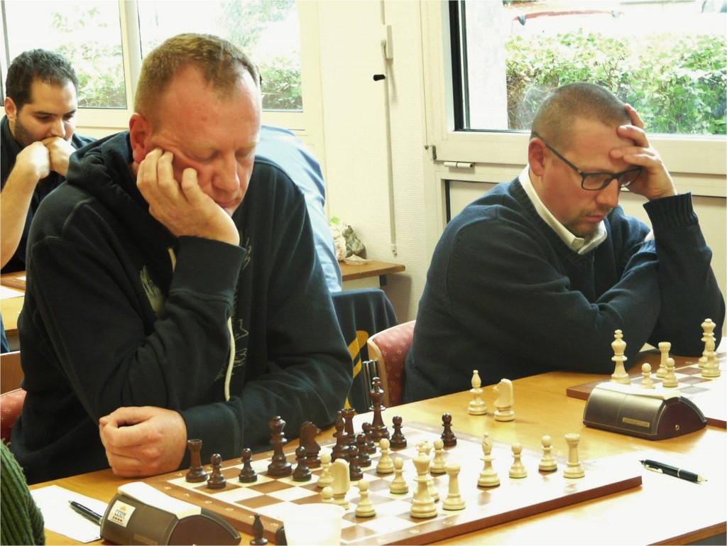 Bertrand et Franck tiennent tête aux 2200 adverses