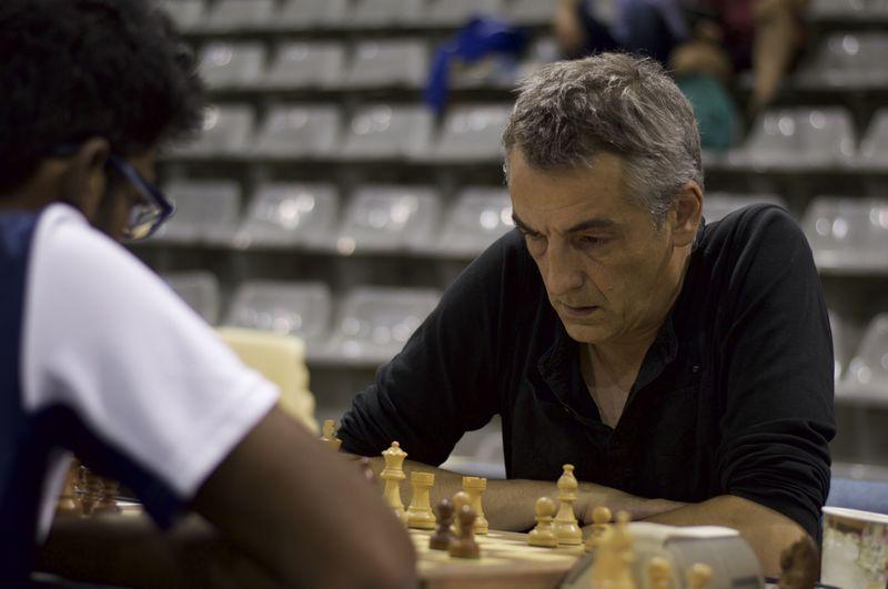Olivier Renet au championnat de Paris 2015 (photo Valeria Ferrara)