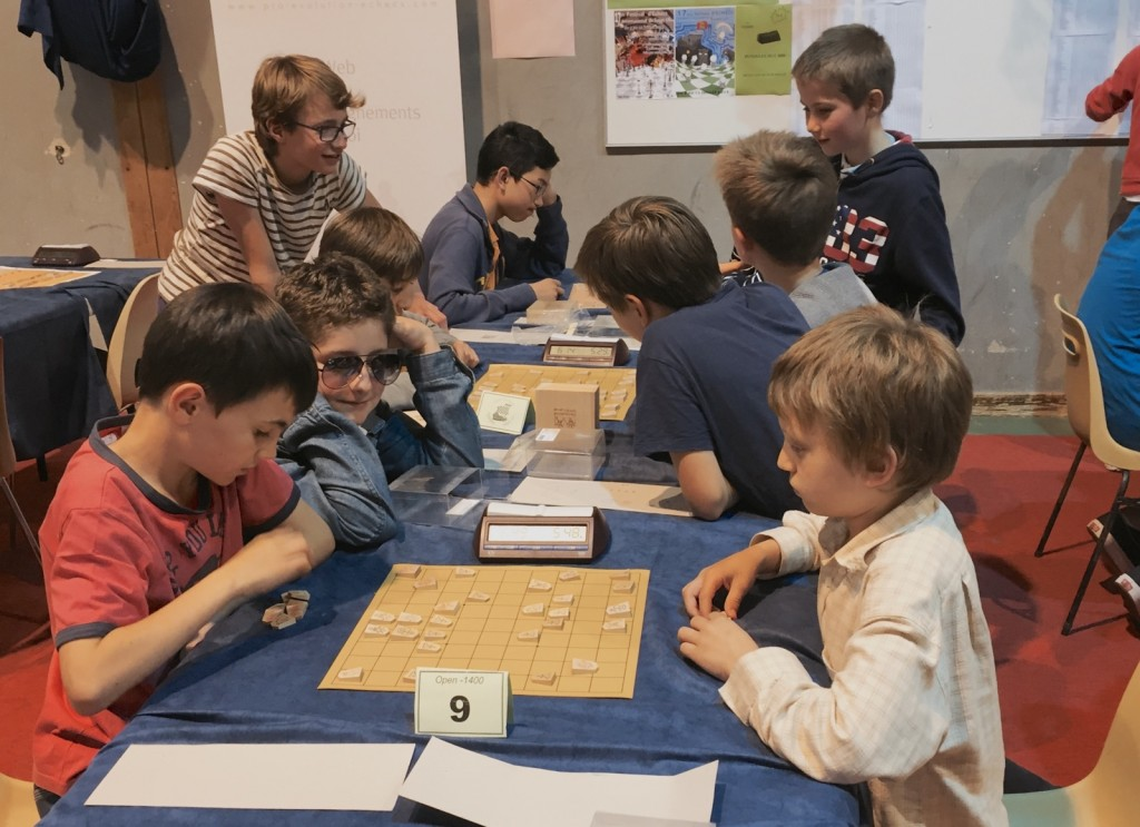 Le tournoi de Shogi remporte un beau succès dans les rangs rueillois
