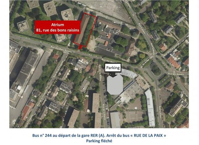 Plan d'accès Atrium