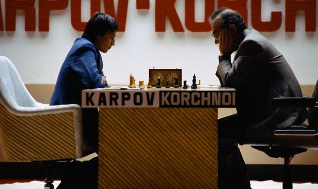 Le célèbre match K-K à Baguio, aux Philippines, pendant l'été 1978