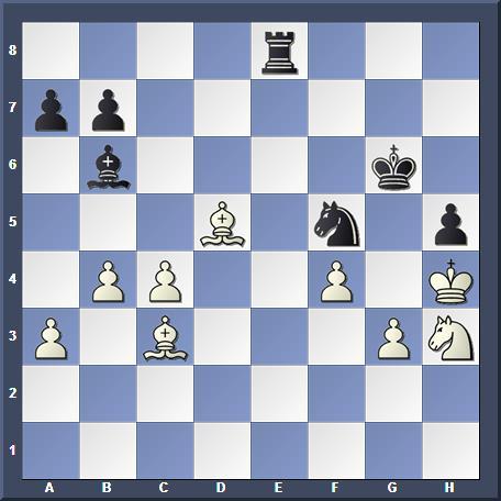 Position après 3...Cf5 mat