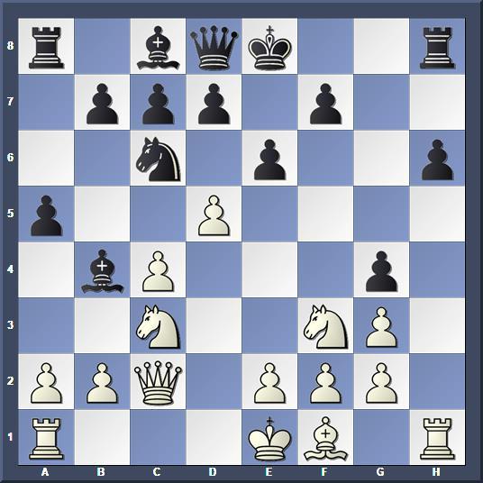 Position après 11.d5