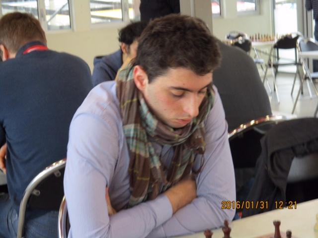 Le MI Quentin Loiseau, un des piliers de l'équipe première du CERM