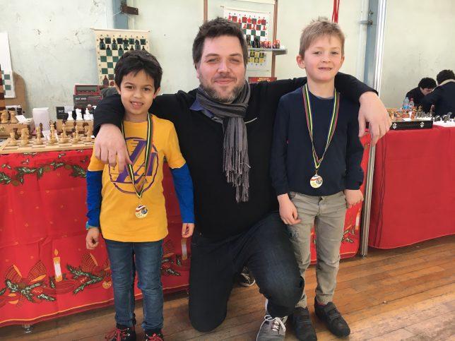 Florian, Guillaume et Rostislav