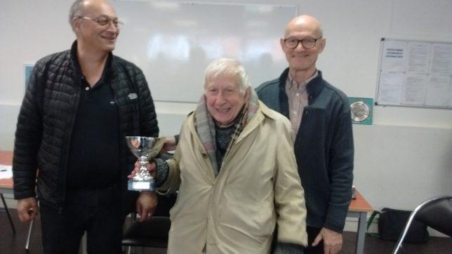Roger Ferry décroche le titre de champion départemental Vétéran